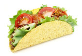 Mexican taco — Stock Photo