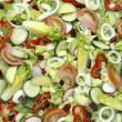 Salad background — Stock Photo #32204377