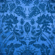 Vintage blue fabric background — Stock Photo