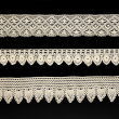 Vintage bobbin lace — Stock Photo