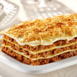 Lasagna bolognegse — Stock Photo