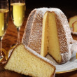 Classic panettone — Stock Photo