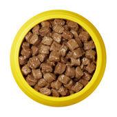 Pet food bowl — Stock Photo