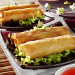 Chinese spring rolls — Stock Photo #35259187