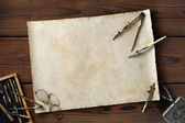 Vintage drawing board — Stock Photo