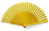 黄色のファン — ストック写真