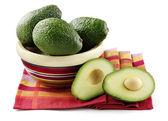 авокадо изолированные — Стоковое фото