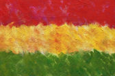 Oil painted flag — Stockfoto