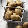 Organic papatoes — Photo