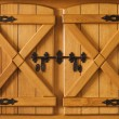 Cupboard doors — Stock Photo