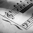 Music notation — Foto de Stock