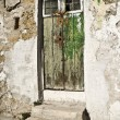 Aged door — Stock Photo