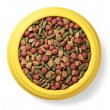Stock Photo: Pet food in bowl