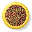 Pet food in bowl — Stock Photo #36335443