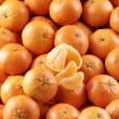 A lot of tangerines — Stock Photo