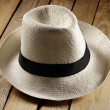 Straw hat — Stock Photo #37574437