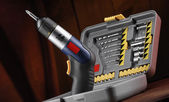 Electric screwdriver — Stock Photo