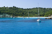 Ionian island creek,greece — Stock Photo
