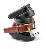 Rolled belts — Stock Photo