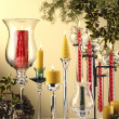 Christmas candles — Stock Photo #39375331