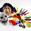 Carnival masks — Stock Photo #40284721