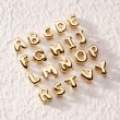 Stock Photo: Golden alphabet