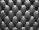 Dark grey leather upholstery — Foto Stock