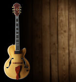 Jazz guitar — Stock Photo