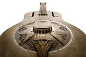 Old blues guitar — Stok fotoğraf