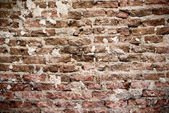 Very aged brickwall texture — Stock Photo