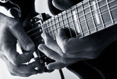 Playing the blues — Stock Photo