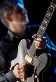 Jazzgitarrist — Stockfoto