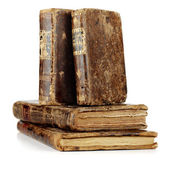 Old and aged books — Stock Photo