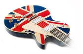 Brit pop guitar — Stock Photo