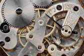 Vintage clock machinery — Foto Stock