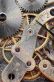 Old clock machinery — Foto Stock