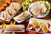 Poultry and chicken — Stock Photo