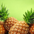 Tropical pineapples — Stock Photo #50787077