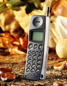 Old cellular phone — Stock Photo