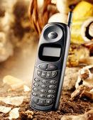 Nineties cellular phone — Stock Photo