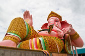Big Pink Ganesha — Stock Photo