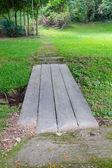 Small concrete walkway — Stock Photo