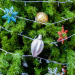 Decorated christmas tree — Stock Photo #36818957