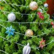 Decorated christmas tree — Stock Photo #36823321