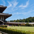 Todai-ji temple against blue sky — Stock Photo