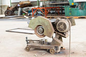 Old metal grinder machine — Stock fotografie