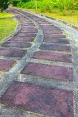 Brown Stone path — Zdjęcie stockowe