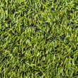 Close up of football field — Stock Photo