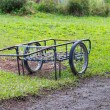 Stock Photo: Two wheels handcart