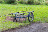 Two wheels handcart — Stock Photo